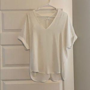 Lush Bright White T-shirt/Tunic